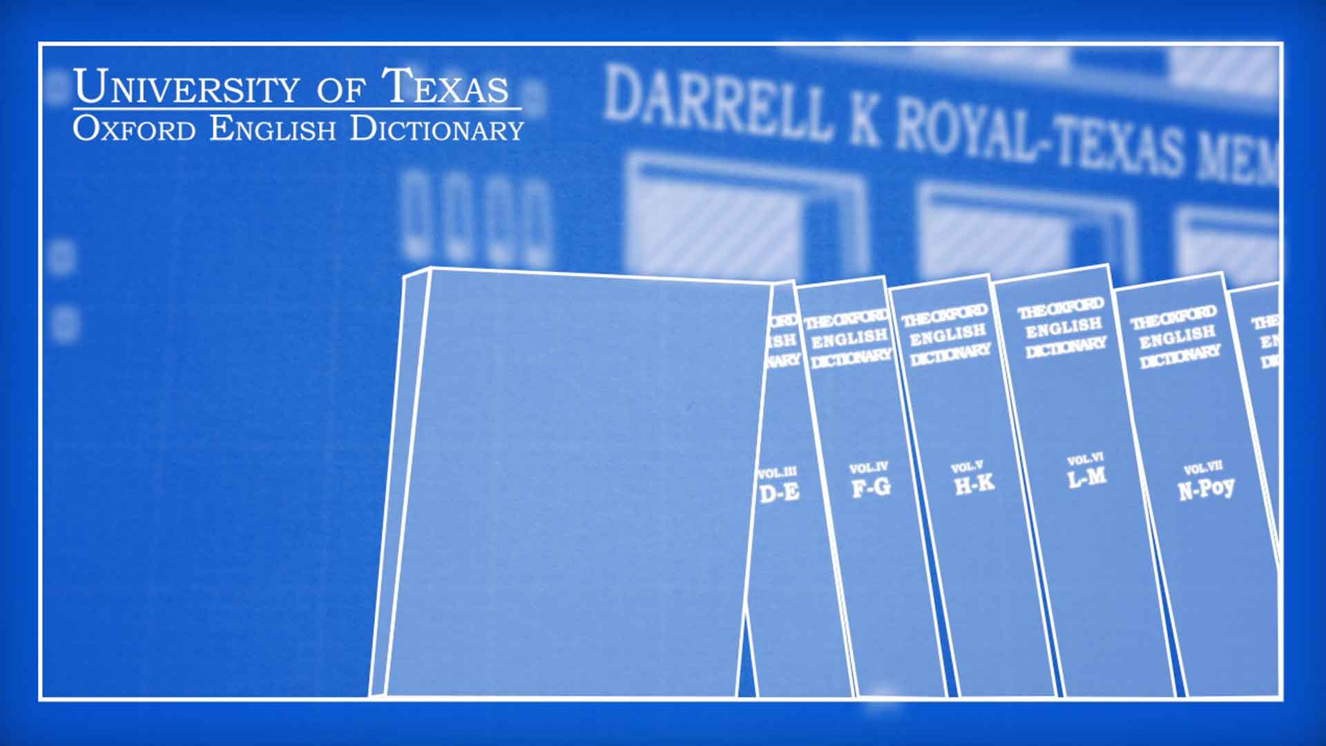 Univ. of Texas: ``The Oxford English Dictionary`` (Documentary)
